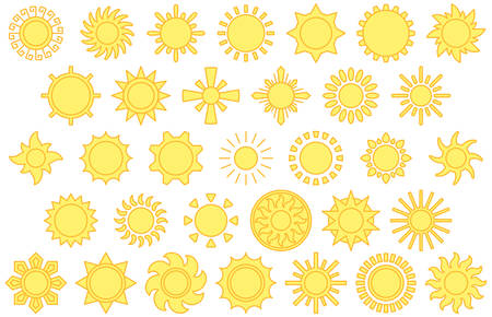 filled: SUNS filled line icons