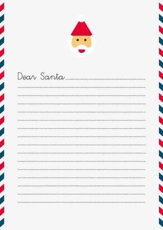 산타 클라우스 크리스마스 편지 (A4 사이즈)