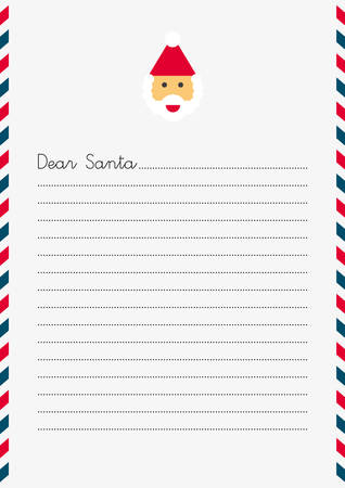 SANTA CLAUS Christmas Letter (A4 size)