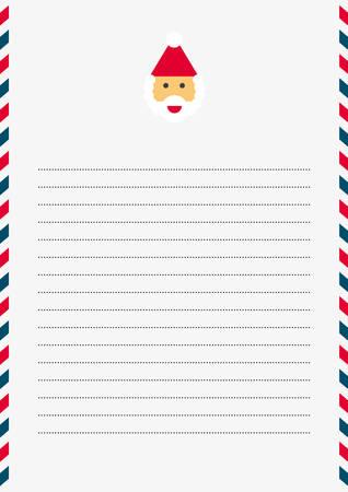 size: SANTA CLAUS Christmas Letter (A4 size)