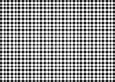 gingham: Black Gingham Pattern Background