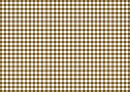 gingham: Brown Gingham Pattern Background Stock Photo