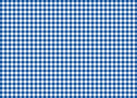 gingham: Dark Blue Gingham Pattern Background Stock Photo