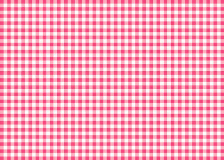 gingham: Magenta Gingham Pattern Background Stock Photo