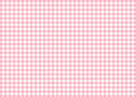 Pink Gingham Pattern Background