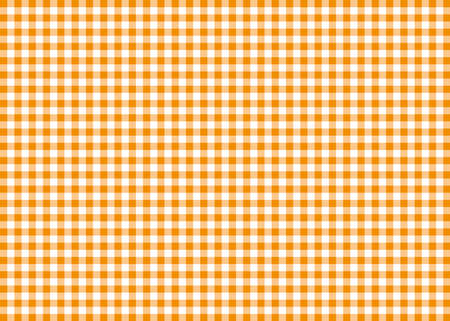 Orange Gingham Pattern Background