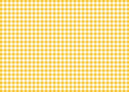 Dark Yellow Gingham Pattern Background