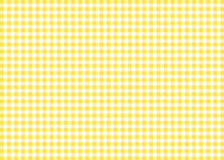Yellow Gingham Pattern Background Banco de Imagens