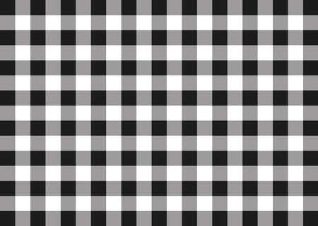 Black Gingham Pattern Background
