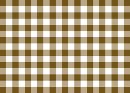 Brown Gingham Pattern Background Banco de Imagens