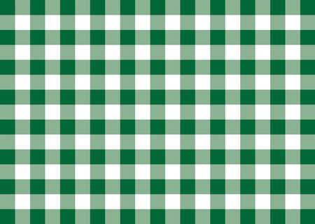 Dark Green Gingham Pattern Background