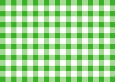 Light Green Gingham Pattern Background Banco de Imagens