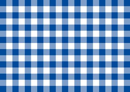 Dark Blue Gingham Pattern Background Banco de Imagens