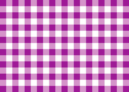 Purple Gingham Pattern Background