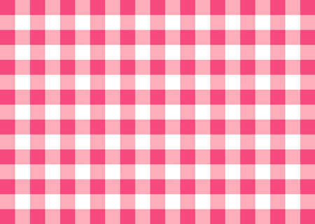 Magenta Gingham Pattern Background Фото со стока