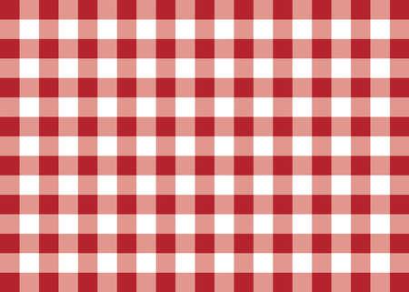 Dark Red Gingham Pattern Background Banco de Imagens
