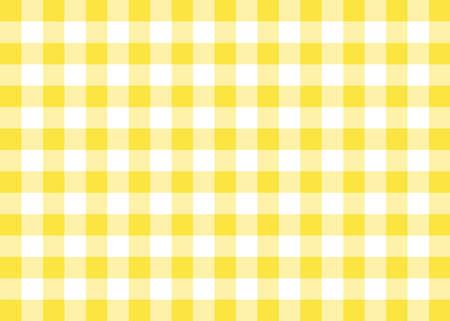 gingham: Yellow Gingham Pattern Background Stock Photo