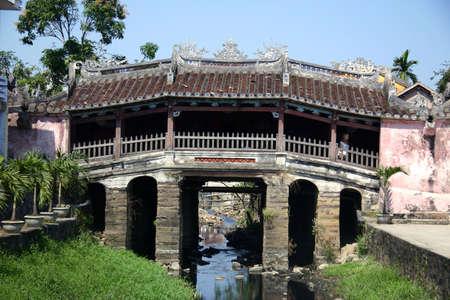 japanese bridge: Japanese bridge in Hoian, Vietnam