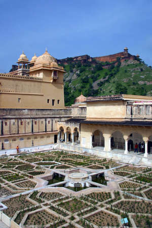 maharaja: View of a palace in India