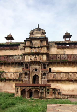 maharaja: Overview of Khujaraho temple, from India