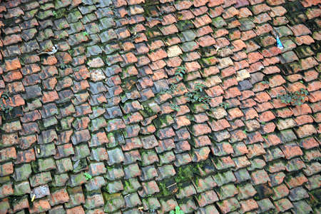 DETAIL roof of a shop in Kathmandu Stock Photo - 3539476