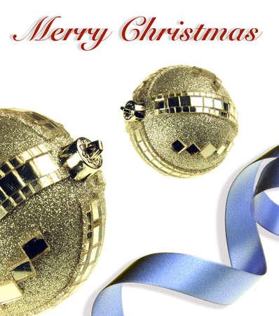 Decorative ornaments for the celebration of Christmas Stock Photo - 3953296