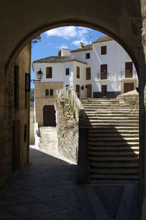 Overview of Alhama de Granada, a typical village of Andalucia, Spain photo