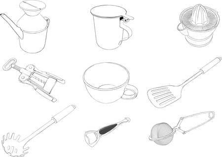 Cookware 1 Illustration