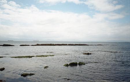 Vacaciones cerca del mar Stock Photo