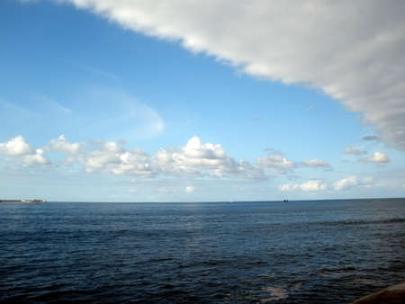 cantabrian: cantabrian sea in gijon spain