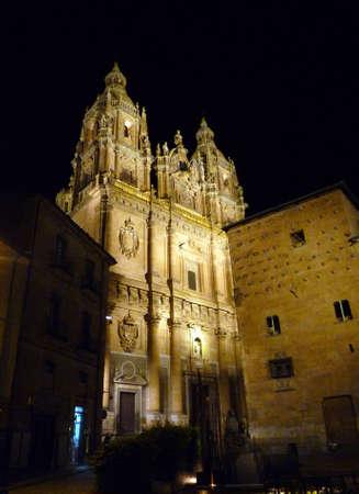 clergy: Clergy and Pontifical University of Salamanca Stock Photo