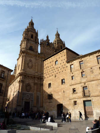 clergy: clergy of salamanca in spain Stock Photo