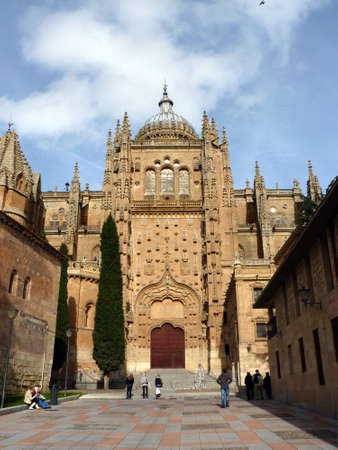 salamanca: Cathedral of Salamanca in Spain