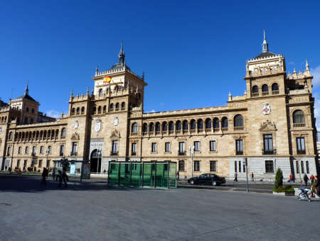 academia: cavalry academy of Valladolid in Spain