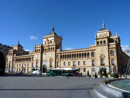 cavalry: cavalry academy of Valladolid in Spain