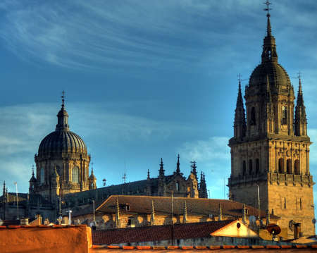 cathedral of salamanca in spain photo