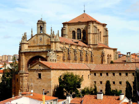 salamanca: St. Stephens Church of the Dominican fathers in Salamanca, Spain