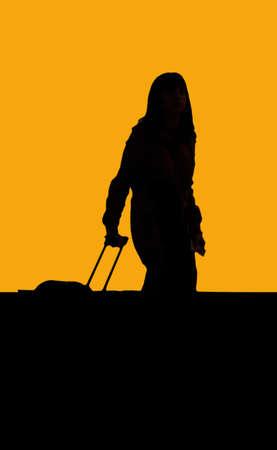 reiziger: Traveler schaduwen