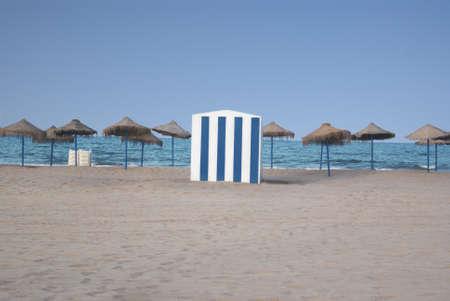 Spiaggia Archivio Fotografico