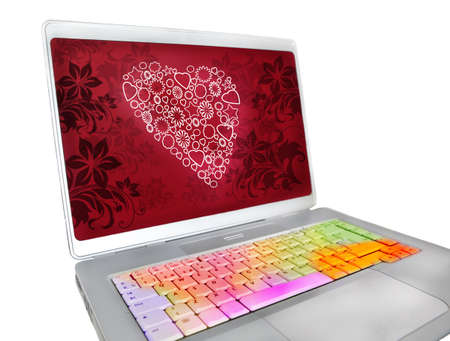 express feelings: San Valentin keyboard where emotions express feelings