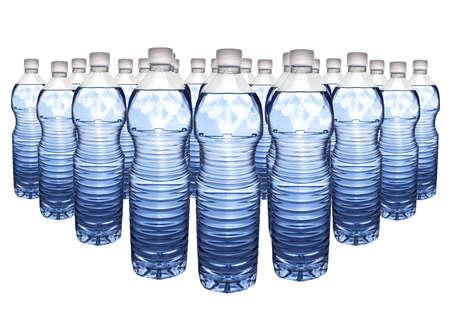 Mineraalwater Stockfoto