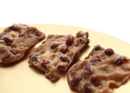 Deliciouse Koekjes met pinda's Stockfoto