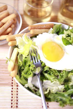 Versheid en gezonde close-up salade