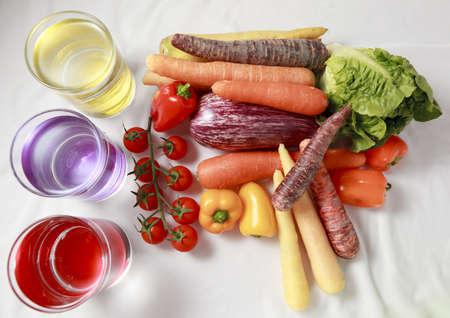 Sorta di verdure su sfondo withe