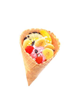Ice cream Stockfoto
