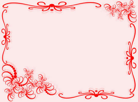 Abstract background with frame and abstract decorations Stock Photo - 4076060