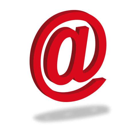 インターネットとの通信のシンボルとして電子メール署名