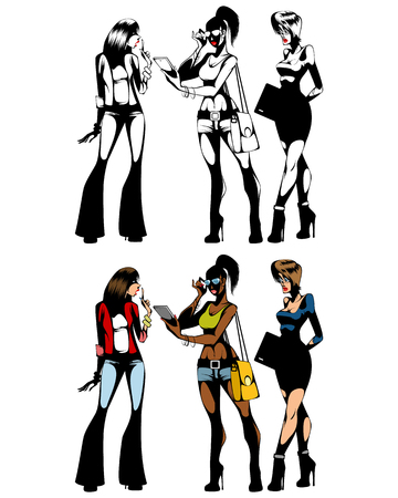 Different women