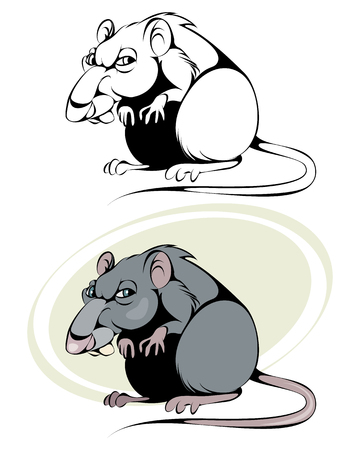 Cartoon rat image