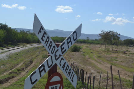 rail cross: Cross road